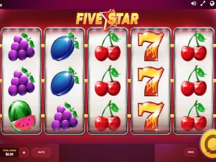 Five stars slot machine
