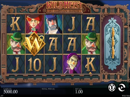 Spiele Wild Heist At Peacock Manor - Video Slots Online